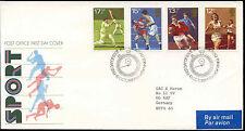 GB FDC 1980 Sport, Wembley Boxing Bureau H/S Cover #C15285