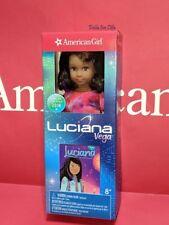 "American Girl Luciana Vega Mini Doll 2018 Girl of the Year NEW IN BOX 6.5"""