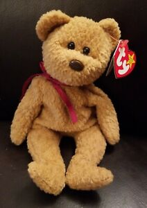 Ty Beanie Baby Curly 5th Gen Hang Tag 6th Gen Tush Tag PE Pellets Error Tag EUC