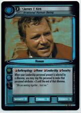STAR TREK CCG 2E DANGEROUS MISSIONS, FOIL CARD 9R11 JAMES T. KIRK