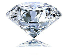 Natural 4mm White Diamond G-Color Round Cut VVS Clarity Excellent