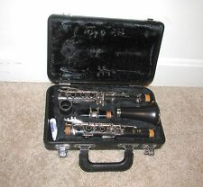 NICE YAMAHA MODEL 250 CLARINET w/ HARD CASE & MOUTHPIECE Bb YCL-250 STUDENT