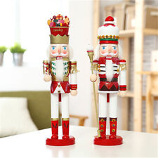 Cake Candy Walnut Soldiers Christmas Wooden Nutcracker Cute Soldiers Xmas Decor