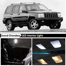 White LED Lights Interior Replacement Package for 1993-1995 Jeep Grand Cherokee