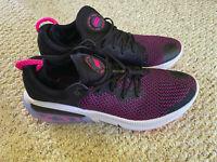 NEW IN BOX -- Nike Joyride Run Flyknit Men's Running/Athletic Shoes, Black/Pink
