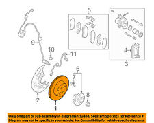 SUBARU OEM 02-04 Outback Front Brake-Disc Rotor 26300AE02C
