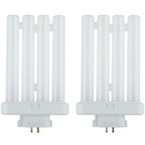 2 Pack Sunlite 27 Watt FML 4-Pin Quad Tube, GX10Q-4 Base, Warm White