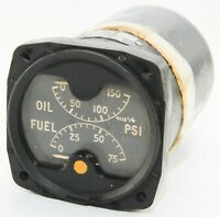 Oil and fuel pressure gauge for RAF aircraft (GB9)