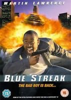 Blue Streak - 1999 Martin Lawrence, Luke Wilson,Peter Greene NEW UK REGION 2 DVD