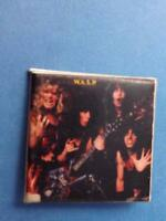 WASP B LAWLESS HEAVY METAL BAND VINTAGE BUTTON mfg CANADA BAND CONCERT SOUVENIR