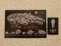 RARO 🔹 🔹 LEGO STAR WARS 75192 UCS COLLEZIONISTI VIP card 🔹 Limited Edition 🔹