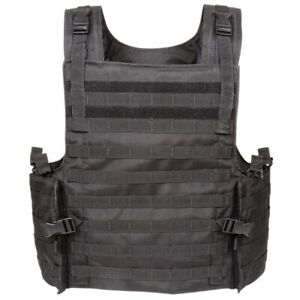 VOODOO TACTICAL ARMOR CARRIER VEST MAX PROTECTION 20-8399 / BLACK - NEW