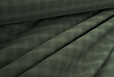 E135 MID GREY TONES DELUXE SUPER FINE 150'sPURE WOOL CHECK MADE IN ITALY