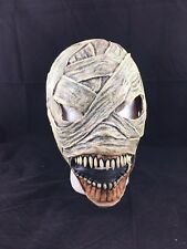 Mutant Mummy Zombie Latex Deluxe Halloween Carnival Cosplay Mask Fancy Dress Up