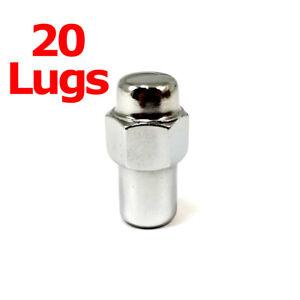 20x Excalibur 8207 Lug Nuts 12x1.50 Chrome Standard Mag