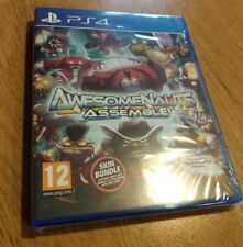 Awesomenaughts Assemble GAME PS4 Game NEW UK PAL for Sony Playstation 4 ONLINE