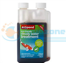 More details for ecopond cloudy water treatment -clears green and cloudy water 250ml bottle