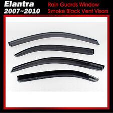 New Rain Guards Window Smoke Black Vent Visors for Hyundai EF Sonata 2003 - 2005