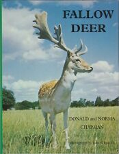 CHAPMAN BOOK FALLOW DEER THEIR HISTORY DISTRIBUTION & BIOLOGY hardback BARGAIN