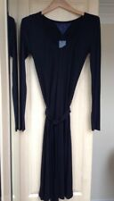 Tommy Hilfiger Long Sleeve Black Fitted Dress, Size S, Brand New!