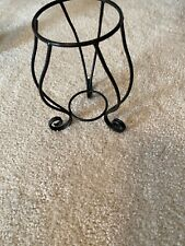 Partylite wrought iron jar candle holder