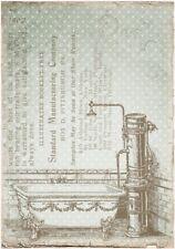 Decoupage-Bastelpapier-Softpapier-Vintage-maritim-Bad-12383