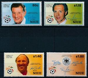 [P15680] Niue 1990 : Good Set of Very Fine MNH Stamps - $20