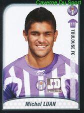 487 MICHEL LUAN BRAZIL TOULOUSE.FC TFC STICKER FOOT 2009-2010 PANINI