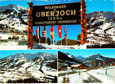 Willkommen in Oberjoch ; Ansichtskarte , gelaufen