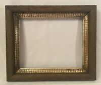 "Antique Gold Gilt Picture Frame 8x10"" Window"