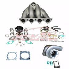 Rev9 Civic crx eg ek ef d15 d16 D series sohc gt35 Top Mount Manifold Turbo Kit