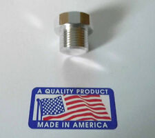 "CPI CNC BILLET  3/4"" x 16 Chevy Vortec EGR / Smog Tube Exhaust Manifold Plug"