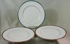 "Three - MINTON - SATURN - DINNER PLATE'S -Two RED - One TURQUOISE - 10.75"" Dia."