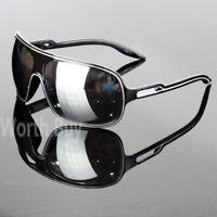 New 80s Mens Women Wrap Around Sunglasses Aviator Retro Vintage Designer Fashion