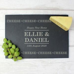 Personalised Cheese Slate Cheese Board - Birthday, Wedding Gift, New Home, Xmas