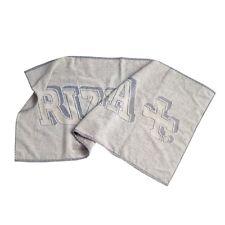 Asciugamani Palestra in Spugna sport Rizla+ Cotone Spiaggia grigia 50  x 100