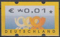 BRD/Bund ATM 4 Restgeldwerte 1 und 3 Cent postfrisch(P-562)