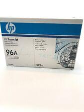 HP C4096A 96A Genuine Toner Cartridge NEW SEALED IN BOX