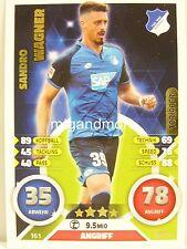 Match Attax 2016/17 Bundesliga - #161 Sandro Wagner - Torjäger