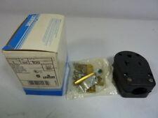 Leviton 930 Plug 2-Pole 3-Wire Dual Power Attachment ! NEW !