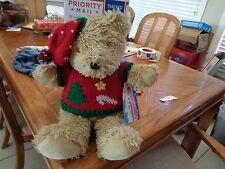 "Bealls Bear Cubbington Teddy Plush Toy Stuffed Animal 20"" Christmas Florida"