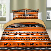 Halloween Quilt Cover Duvet Cover Set Twin Full Queen King Size Bedding Set New