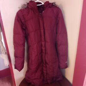 NEW Eddie Bauer Small Womens Lodge Down Duffle Coat Parka $249 Retail NWT!