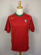 Portugal 2004/2006 Nike Vintage Football Shirt Kit Home Men's Large Soccer