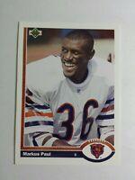 1991 upper deck markus paul 549 rookie ebay 1991 upper deck markus paul 549 rookie