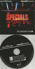 THE SPECIALS 30th Anniversary BEST of RARE LIVE NEWSPAPER PROMO CD USA seller