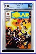 Solar Man Of The Atom #24 CGC Graded 9.8 Valiant August 1993 Comic Book