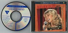 OLIVIA NEWTON-JOHN Best JAPAN SEMI-OFFICIAL CD w/Pic Sleeve S-048 Free S&H/PP