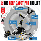Pro Caddy Golf Trolley Buggy With Linix Motor USB Charger With All options