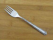 "Oneida Cherie Salad Fork 6 3/4"" Deluxe Stainless Flatware Silverware Glossy"